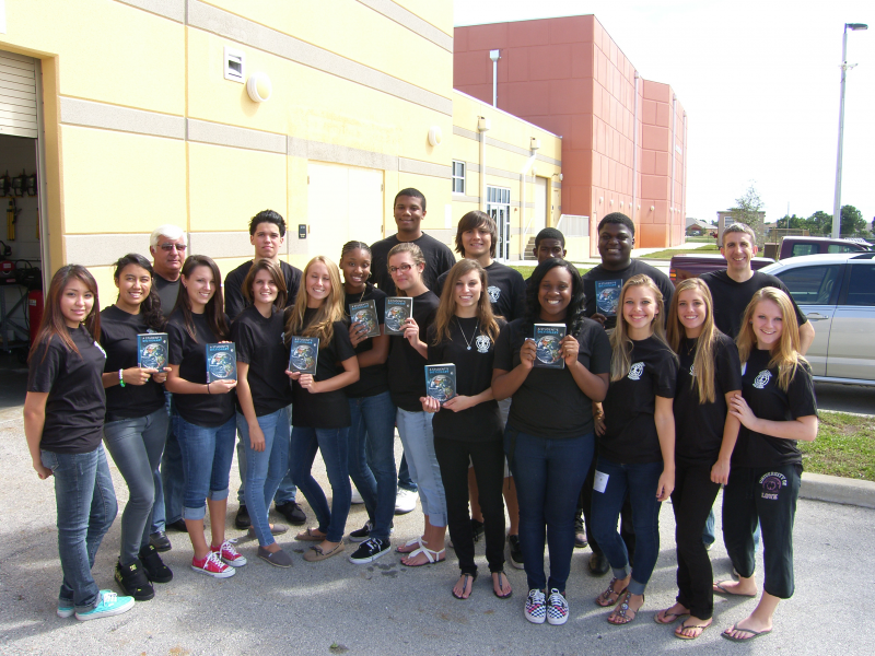 Treasure Coast HS Interact club labeled them